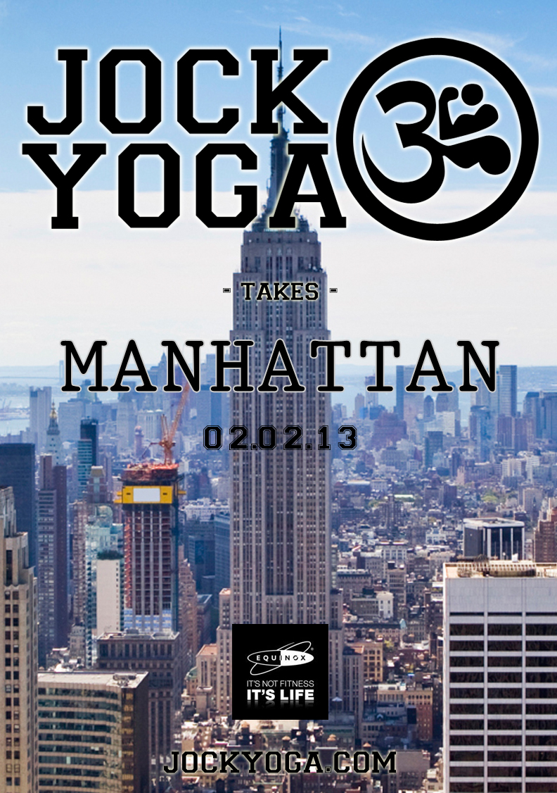 Jock Yoga Takes Manhattan! - Jock Yoga